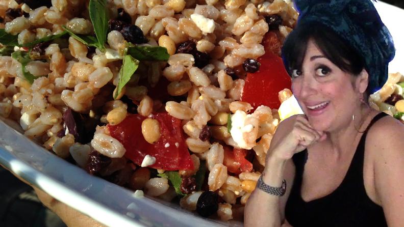 Farro salad Claudia Ossa