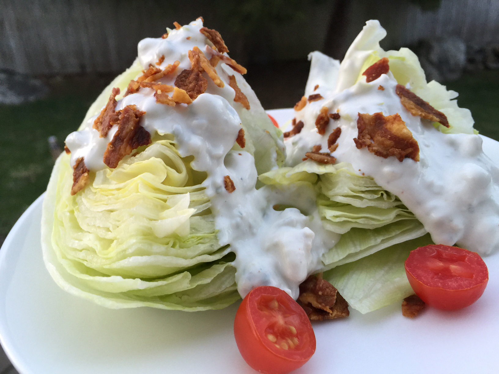 The best bleu cheese wedge salad