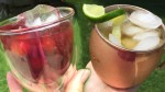 Summer Sips - The Transfusion and The Moscow Mule